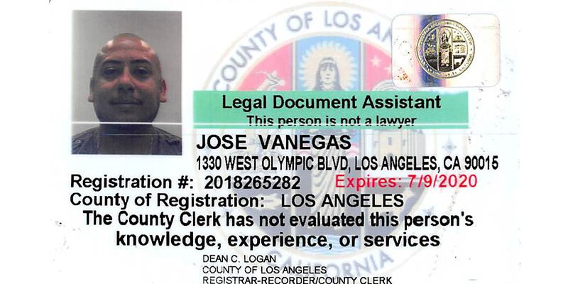 Jose Vanegas Paralegal of Progresso Legal Group